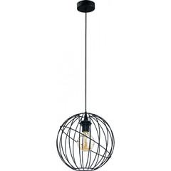 Одиночный подвесной светильник ORBITA BLACK 1626