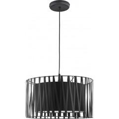 Одиночный подвесной светильник HARMONY BLACK 1654