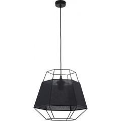 Одиночный подвесной светильник CRISTAL BLACK 1804