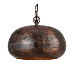 Светильник Searchlight Hammered Pendants 2094-32BZ