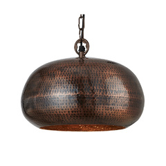 Светильник Searchlight Hammered Pendants 2094-39BZ