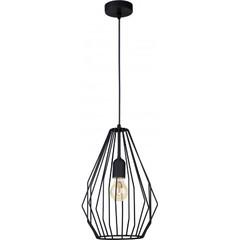 Одиночный подвесной светильник BRYLANT BLACK 2258