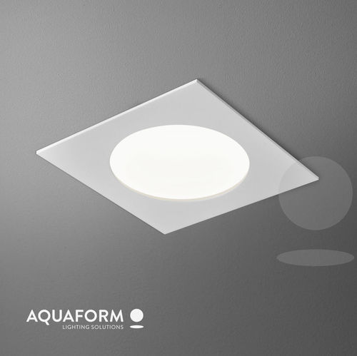 AQUATIC square EV LED hermetic встраиваемый светильник