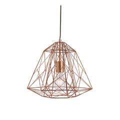 Светильник Searchlight Geometric Cage 7271CU