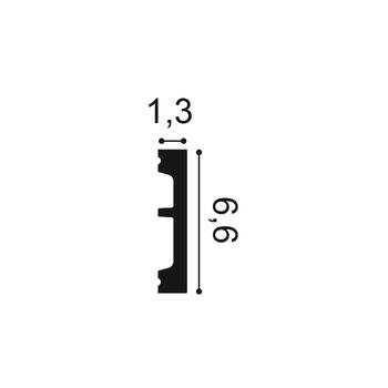 DX157 дверное обрамление Orac Axxent