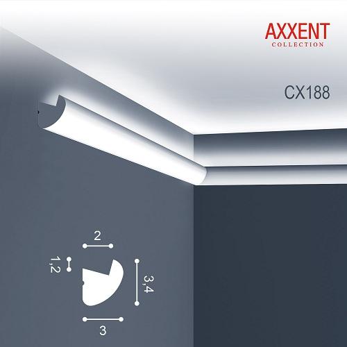 CX188 карниз Orac Axxent