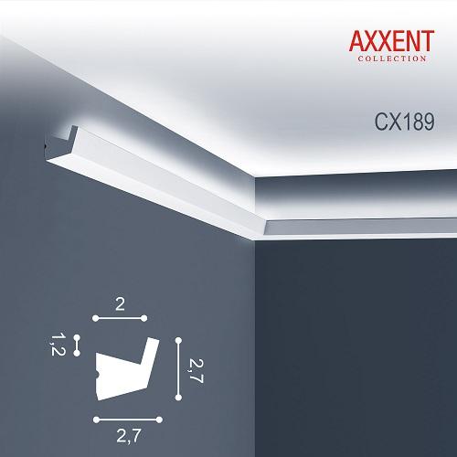 CX189 карниз Orac Axxent