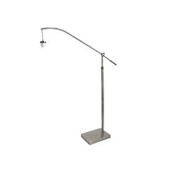 Торшер Searchlight Swing Arm XL FO1101SS